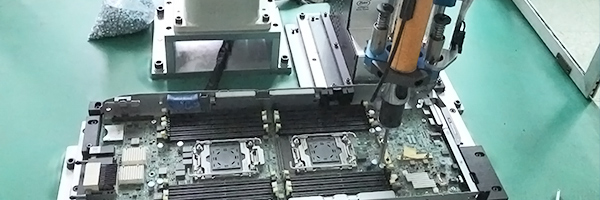3C industry computer motherboard screw robot