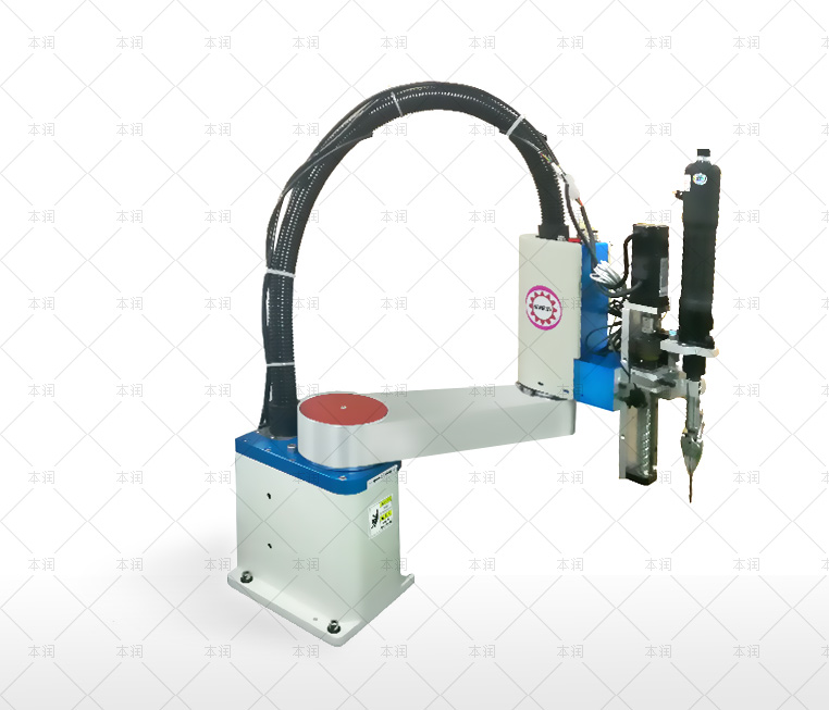 Blow air screw machine